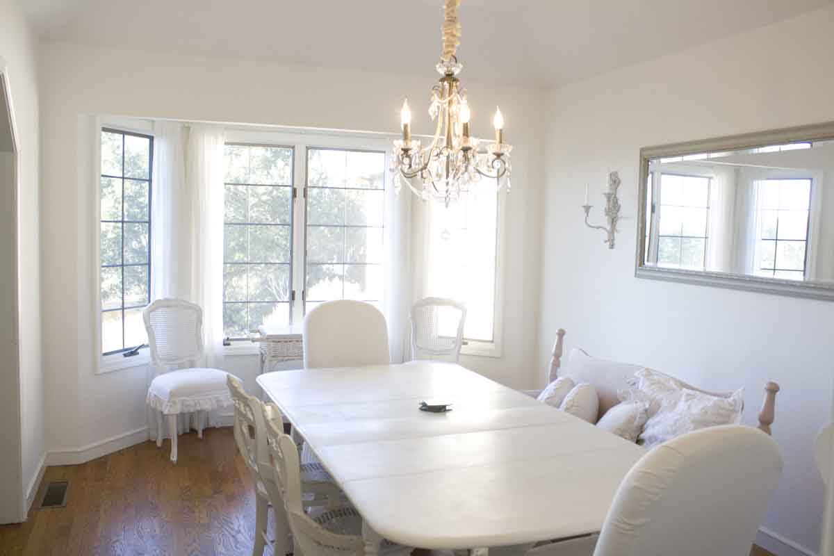 Having Everything White Is Exactly What I Had Been Hoping For. I Have  Always Wanted An All White Dining Roomu2026.probably Since The First Time I  Opened My ...